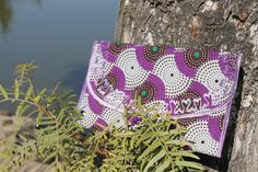 Purplicious Ankara Clutch on Etsy, $25.00