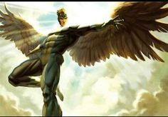 Angel  Warren Worthington III was born in Centerport, New York, angel wings, los angeles