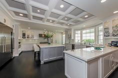 1907 Country Lane --Spacious Elegance With A Warm Touch In Pasadena-- this kitchen even has a designated cabinet for the KitchenAid mixer
