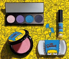 Sneak peek: Get a load of the new MAC Simpsons Collection