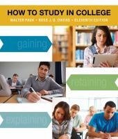How to Study in College by Walter Pauk and Ross J. Q. Owens