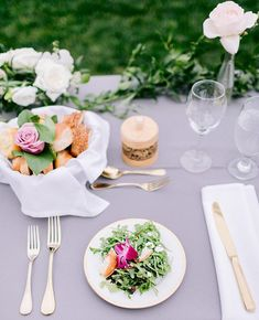 Picture perfect plating       #weddingdetails #instawed #prettyplate #weddingday #weddingfood #prettysalad #weddingflorals #weddingdecor #sanfranciscoweddingphotographer #smpweddings #weddingeats