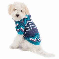 Chevron hoodie for the pooch #work #design