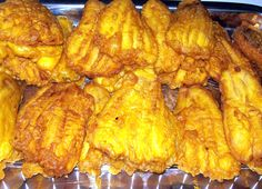 Maruya: Fried banana fritters often dusted with sugar and eaten as an afternoon snack.