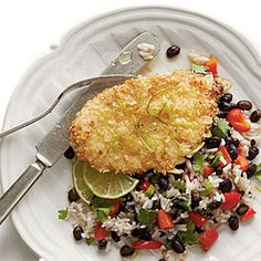 black bean recipes, brown rice, rice recipes, black beans, coconut milk, grilled chicken, cooking tips, bean rice, coconut chicken