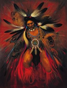 native american art - animal spirits