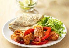 Sizzling Grilled Chicken Fajitas