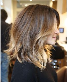 This is beautiful, thinking of getting mine cut like this?!