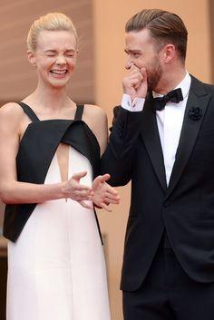 Carey Mulligan and Justin Timberlake