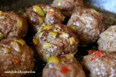 SCD Olive & Garlic Meatballs (*Use SCD legal olives...)