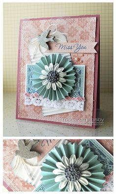 Rosette Card