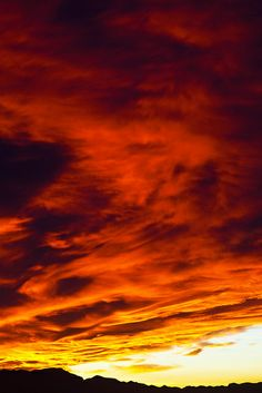 Sunset - Henderson, Nevada. Nothing beats our sunsets.