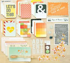 Valley High Project Life Kit by @Gail Mounier Calico