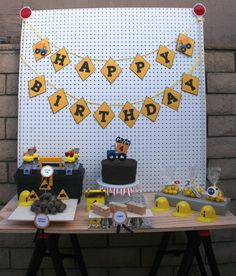Construction Dump Truck Party Package Birthday decorations