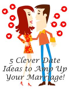 Fun Date Ideas to Amp Up Your Marriage www.oneshetwoshe.com #love #marriage