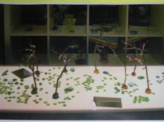 wire trees posted on Reggio Inspired