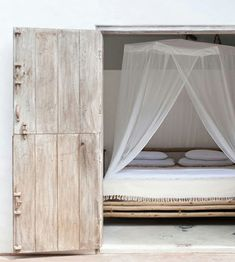 serene bedrooms by the style files, via Flickr