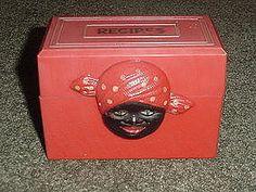 Aunt Jemima Collectibles Recipe Box