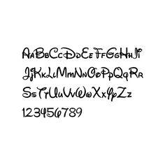 Font: Walt Disney Script v4.1 / Fontica - Download windows free fonts found on Polyvore