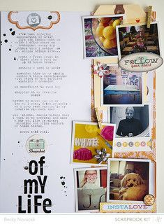 snapshot of my life by beckynovacek at Studio Calico