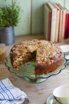 Irish Apple Crumble Cake...   DonalSkehan.com