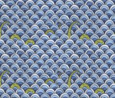 Shy Ness fabric by ceanirminger on Spoonflower - custom fabric