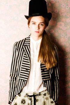 jacket, tophat fashion, blazer, top hats, stripe