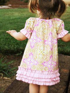 The Addison Dress in Daisy Chain