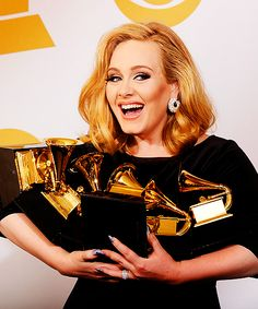 She has 8 grammies...EIGHT!...please tell me more about how Adele can't sing...