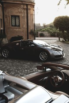 His and Hers #Bugatti #Veyron