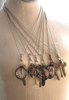 The link seems to be no good but it's a neat, easy way to disguise your house key or recycle old keys into art.