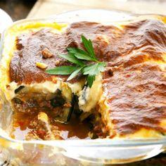 Παραδοσιακός μουσακάς / Greek traditional moussaka