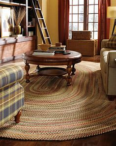 The Bear Creek rug in wheat is a durable rug that has a unique design. The best part? It's made right here in the USA. #Capel_rugs