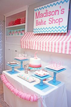 "Photo 18 of 44: Baking and Cooking / Birthday ""Madison's Bake Shop"" 