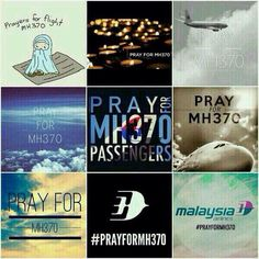 Pray for MH370.