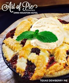 Texas Dewberry Pie f