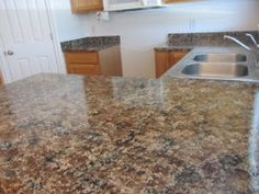 ... Giani Granite Countertop Chocolate Brown Paint Kit Review and Giveaway
