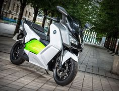 BMW C-evolution e-Scooter. #scooters