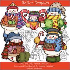 Rajiv's Winter Treats 1 Clip Art