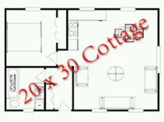 20X30 guest house plans