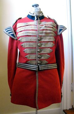 British Military uniform Victorian by Yesteryearessentials