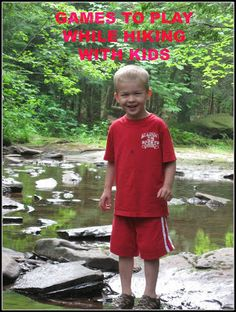 Hiking Games to play with kids