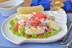 Салат с макаронами тунцом и помидорами