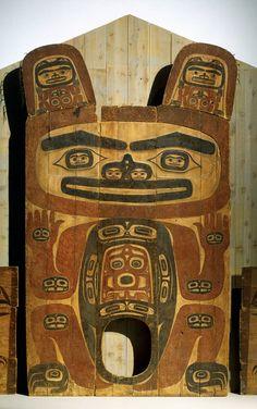 Native Alaskan Tlingit art -