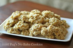 Vanilla Oatmeal No-Bake Cookies (warning: these are like crack. just sayin')