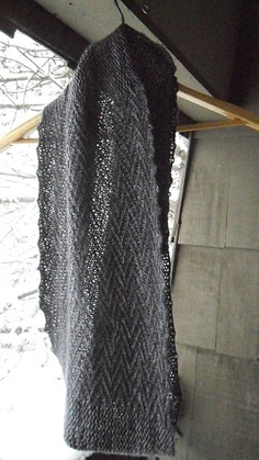 Ravelry: MorticiaAddams' Not So/ smooth edge pattern by Veera