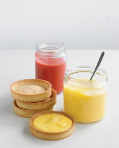 Lemon & raspberry curd