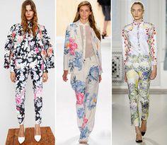 floral pants + floral top