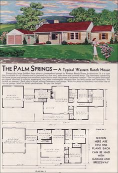 1951 Aladdin Kit Houses - The Palm Springs