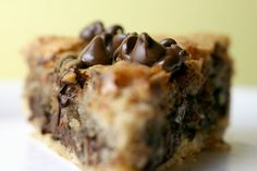 Chocolate Chip Cookie Pie by Bakerella